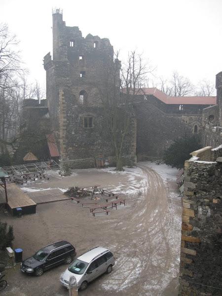 Zamek Grodziec- donżon