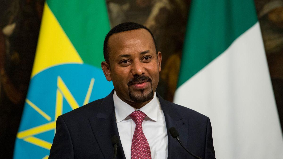 Abiy Ahmed Ali, o primeiro-ministro da Etiópia.