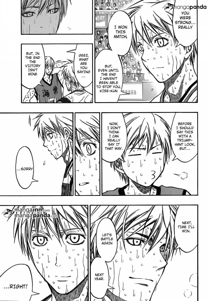 Kuroko no Basket Manga Chapter 203 - Image 07