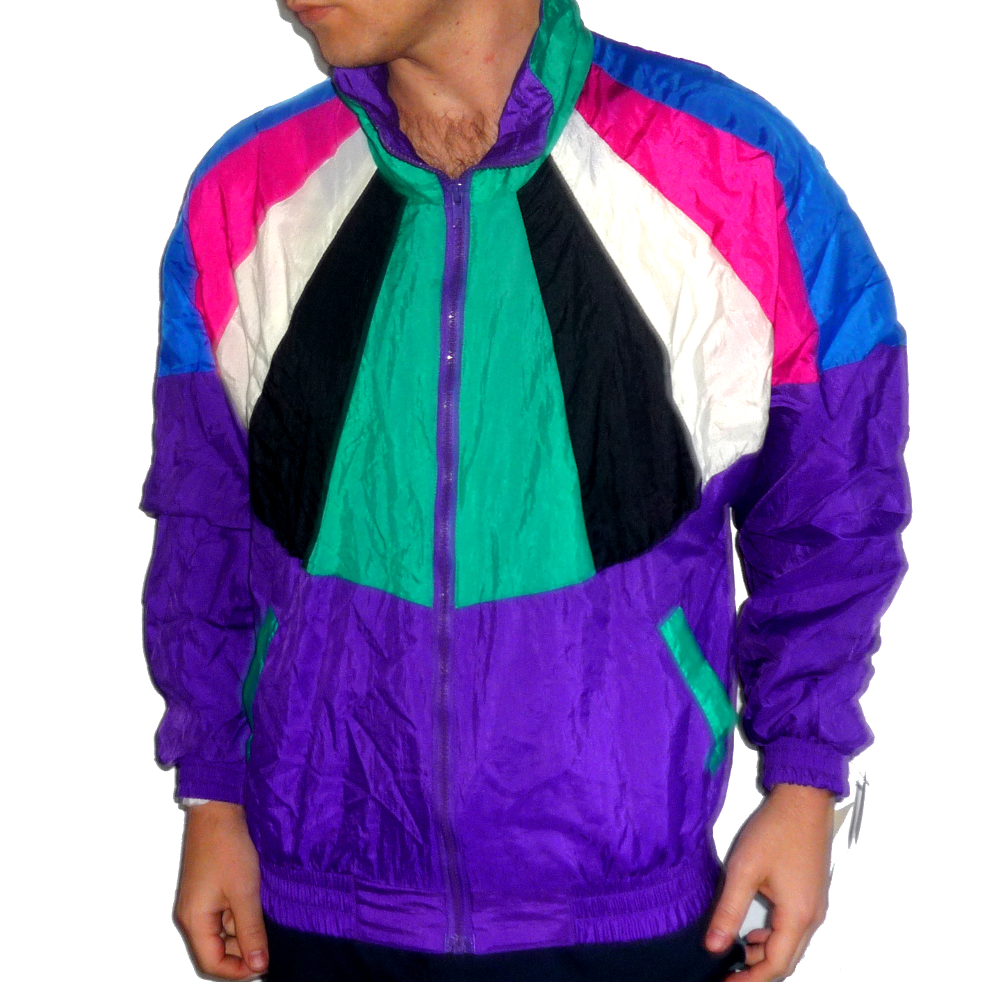 Vintage Windbreaker Jacket | Outdoor Jacket
