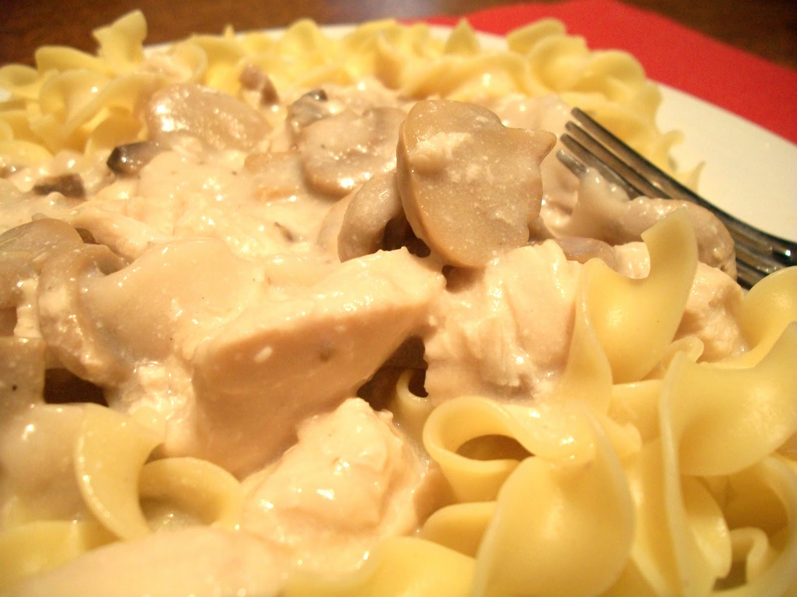My Kind of Cooking: Slow Cooker Chicken Stroganoff