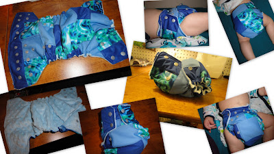 Scrappy Diaper with Splash Pul