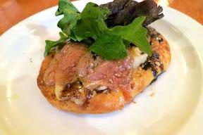 A meatstravaganza dinner at Au Pied De Cochon for 10 ladies on September 13, 2014 - Tarte de Foie Gras
