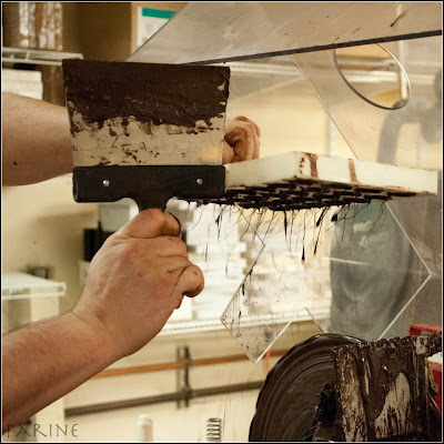 the tempering machine stays on year round at 120f49c and is also used as an enrober customers go wild over chocolate enrobed macarons so much so the - Enrob Color