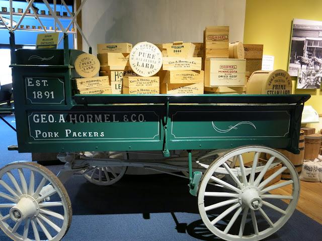 A Lard Wagon; Spam Museum
