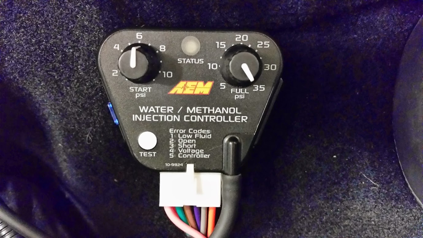 Water Injection Lotustalk The Lotus Cars Community Aem Methanol Wiring Harness Kit Came With 3 Different Injectors 250cc Min 500 Cc And A 1000 Based On My Horsepower I Went Also These Come