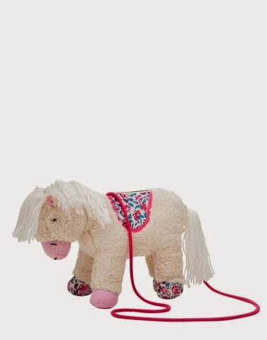 Porcelain Horse Hand bag by Joules
