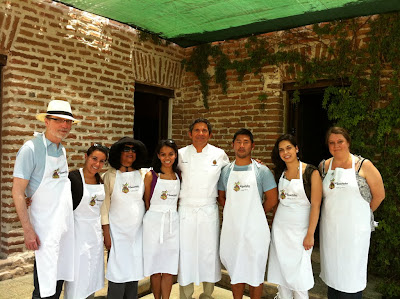 Press Group with Chef Enrique Silva at Los Tamarindos in Los Cabos, Mexico - Photo Courtesy of Los Tamarindos
