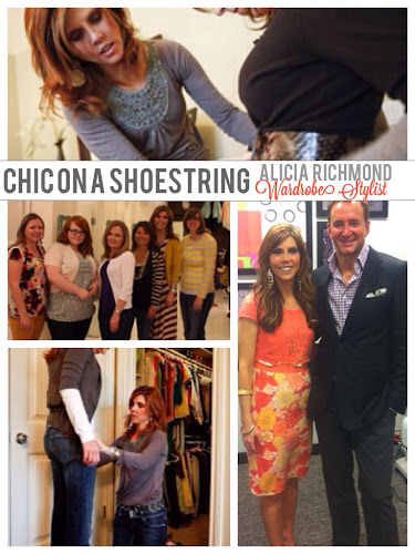 Alicia Richmond, chic on a shoestring, wardrobe stylist, fashion expert,