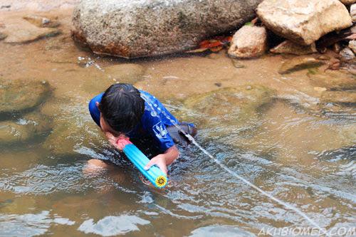 main perang perang pancutan air