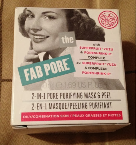 fab pore facial peel soap glory