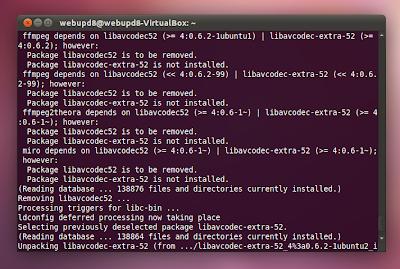 libavcodec-extra error