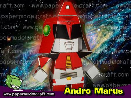 Ultraman Andromeda Papercraft Andro Marus
