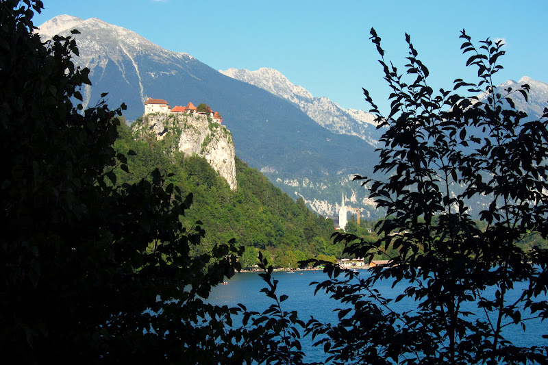 Bled Castle - from a distance
