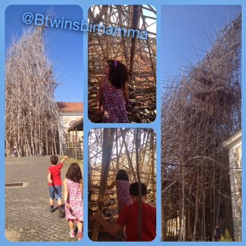 Big bambù visita al MACRO di Testaccio