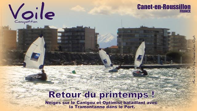 Voile Optimist Compétition Caneten Roussillon Génération_Opti 2013