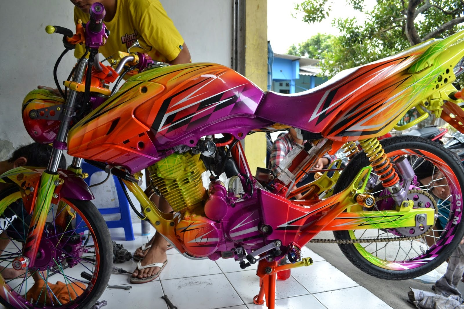 modifikasi tiger revo 2013