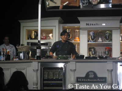 Culinary Demonstration with Chef Ming Tsai at the Food Network New York City Wine & Food Festival at Pier 57 - Photo by Taste As You Go