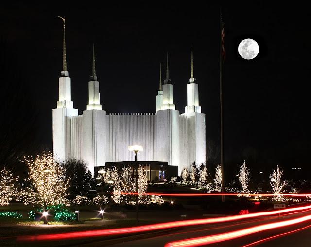 Chụp hình đèn Giáng Sinh