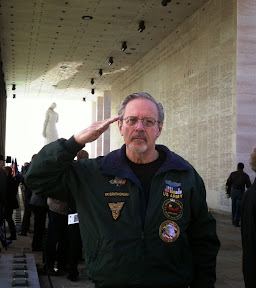 Roger Frydrychowski at the Virginia War Memorial, Richmond, Va