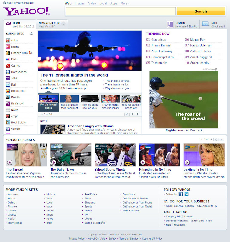 yahoo best site according
