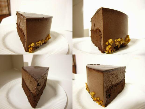 經典巧克力慕斯-台中蛋糕店梅笙蛋糕工作室La Maison