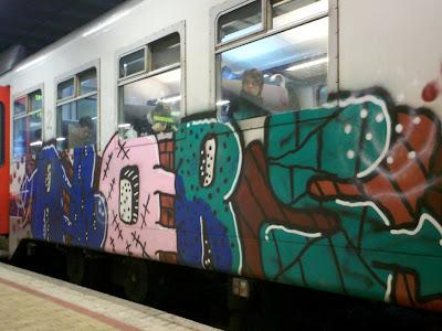train panels