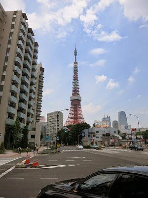 赤羽橋から見た東京タワー
