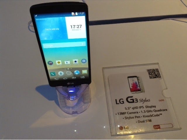 New Things To Grab From Lg  G3 Stylus  G3 Beat And G Watch
