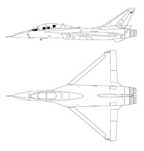 Mirage F1M: ¿Una opción para Argentina...? -vicios ocultos- - Página 3 Atlas%252520%252527Carver%252527%252520design%252520study%2525202
