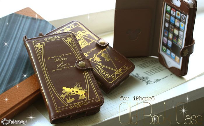 Old Book Phone Case : Disney old book case for iphone が新発売:洋書のような本革製iphone 用保護