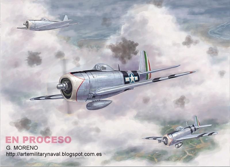 Boceto escena aeronáutica