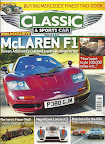 Classic and Sports Car magazine - Rowan Atkinson Mclaren F1 Special - Front Page