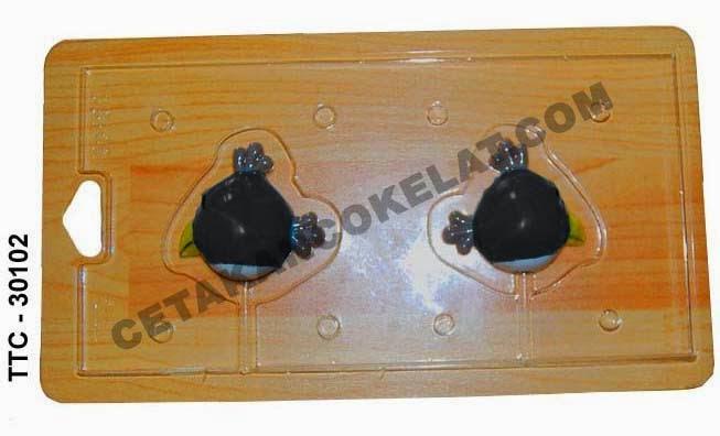 Cetakan Coklat TTC30102 Angrybird