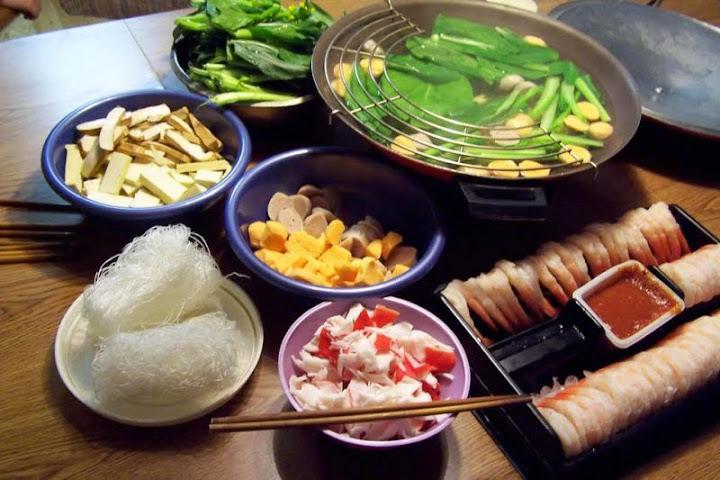 Меню китайской кухни