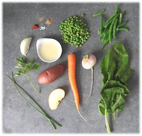 recette-bebe-8-mois-printaniere-legumes-jambon-blanc