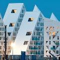 edificios de viviendas con forma de iceberg en aarhus dinamarca