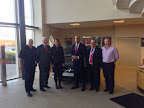 Visiting Vauxhall Motors with Shadow Secretary of State Chuka Umuna
