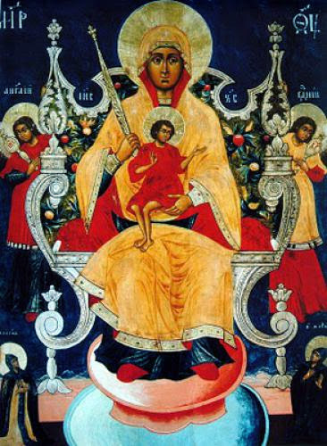 Icon Of The Mother Of God Of Cyprus