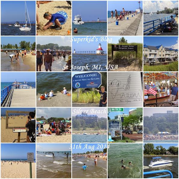Silver Beach,我的美國密西根州初體驗。