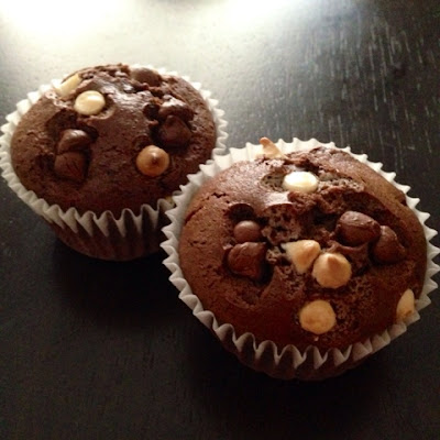 Chocolate Muffins by Shea Sonia