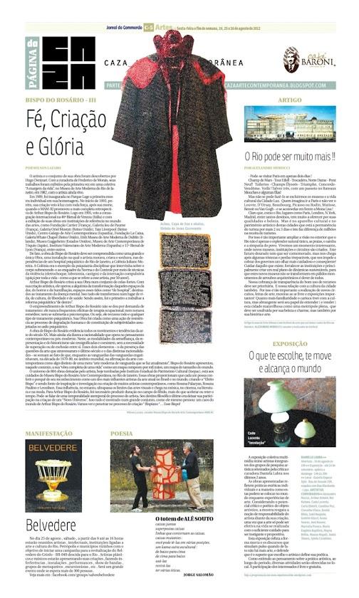 Página da Caza - 24 de Agosto de 2012