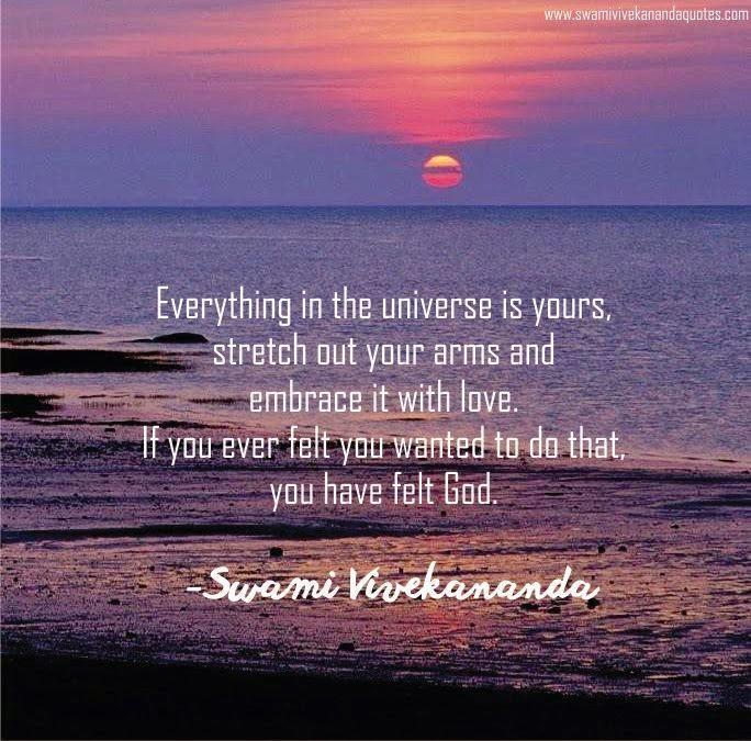 Swami Vivekananda love quotes for God