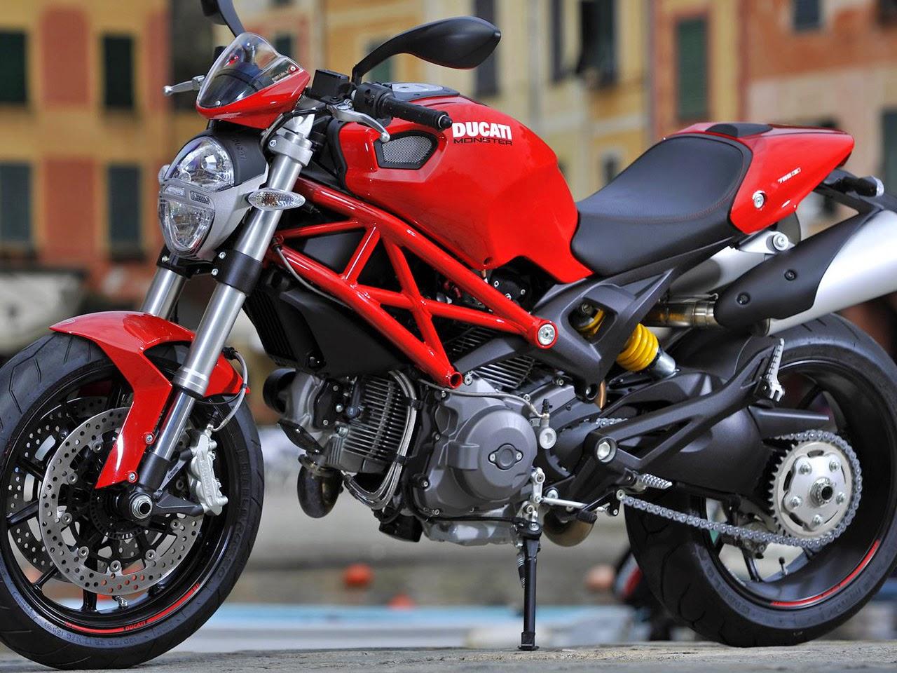 Modifikasi Honda Tiger Ala Ducati