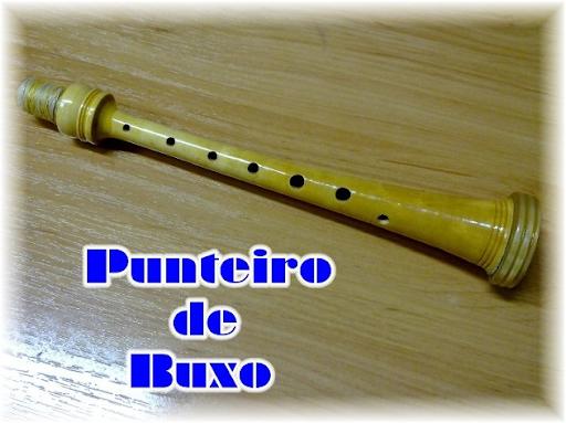 VENDO un PUNTEIRO(639) de GAITA en(65) madera(92)