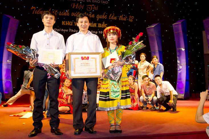 Hội thi Tiếng hát sinh viên toàn quốc lần thứ VII năm 2012 tại Trường Đại học Thủy Lợi