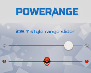 Powerange – iOS 7 Style Range Slider