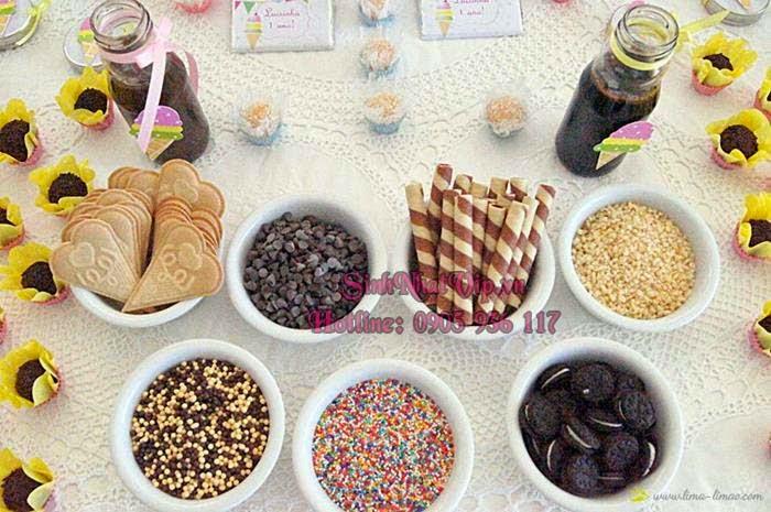 các loại bánh kem trang trí