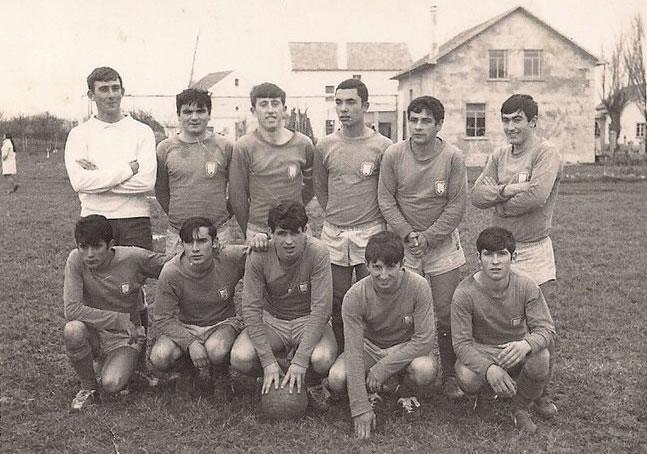 A.D.R. Numancia de Ares. Año 1968