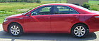 2007 Toyota Camry Hybrid Sedan 4-Door 2.4L Red 135K Non Smoking